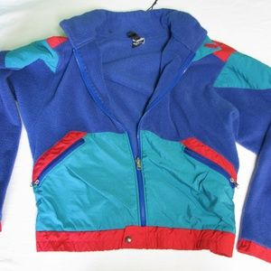 Vintage North Face Extreme-z Fleece Jacket, XL